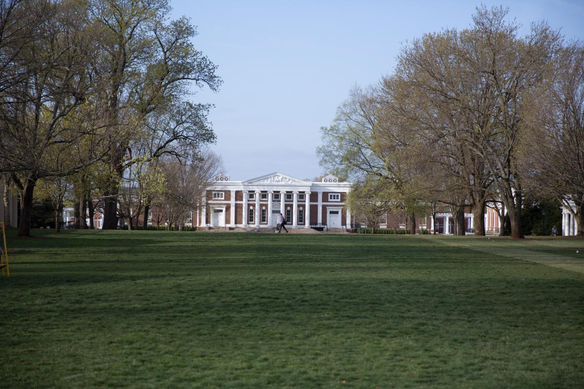 An image of Old Cabell Hall
