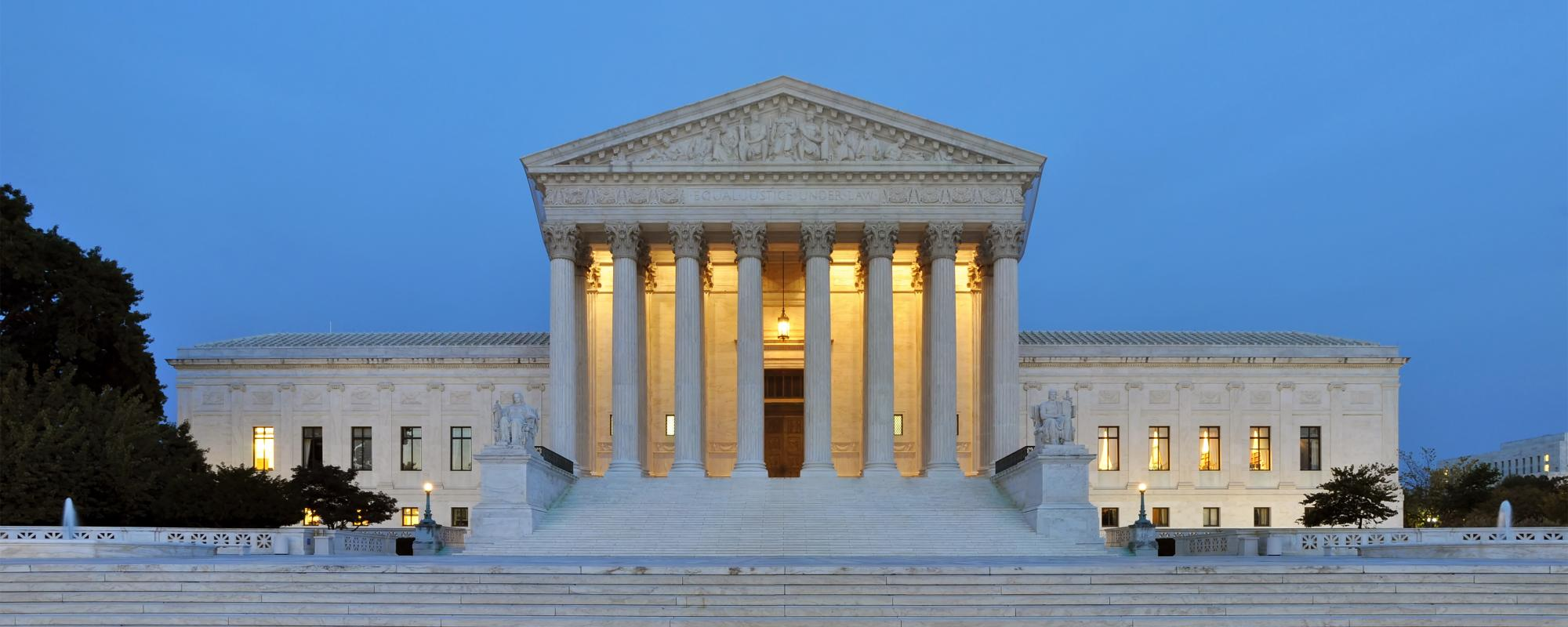 An image of the US Supreme Court Building