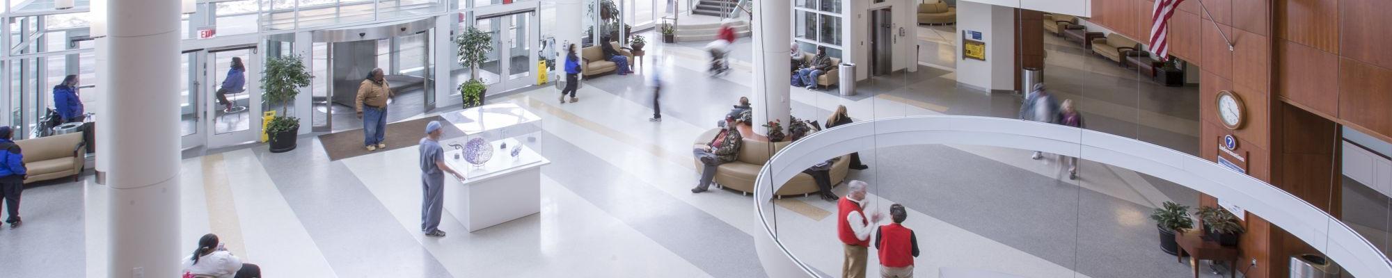 UVA Hospital Lobby