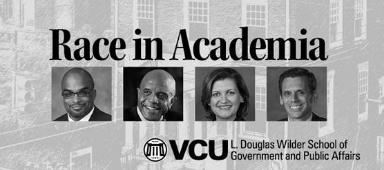 Four portraits of college presidents.
